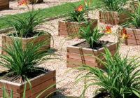 Mantenimiento jardineras de madera tropical