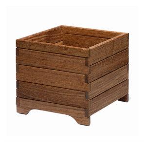 jardinera de madera rustic seakit